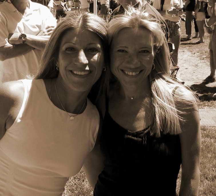 Beth & Lisa in Squaw Valley June 2004