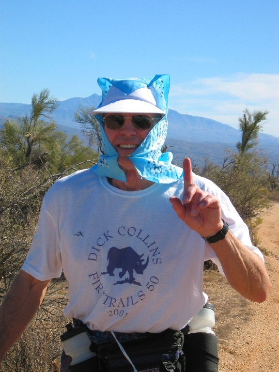 Marvin Snowbarger (Badwater 04 buckler) is an inspiration and a tower of fitness