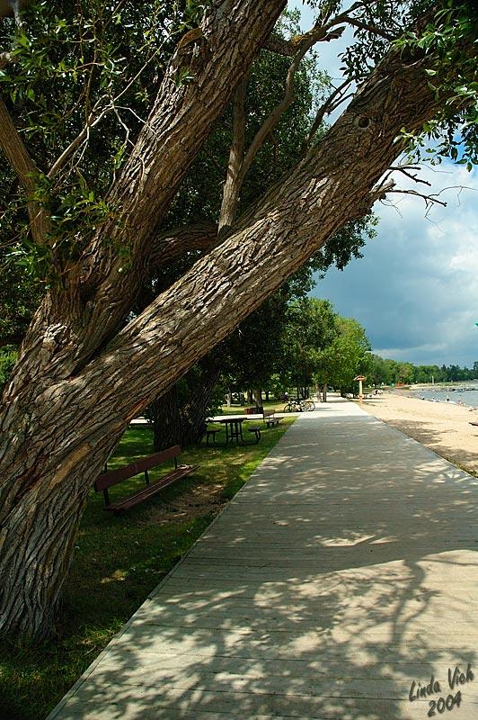 Winnipeg Beach Boardwalk