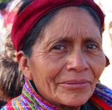 market woman, santiago atitlan, guatemala