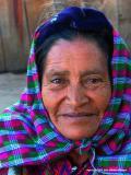 woman in plaid, santa maria de jesus, guatemala