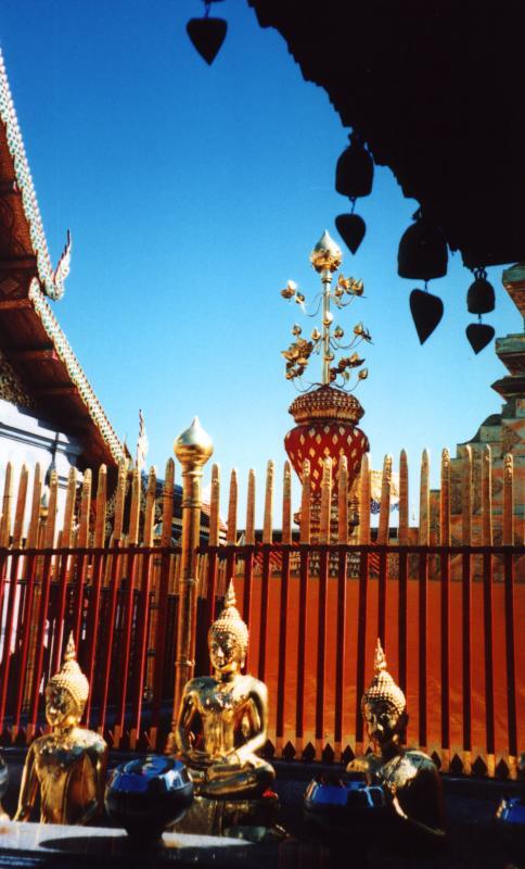 Three more buddhas