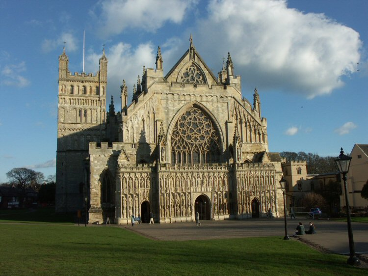 Exeter Cathedral (February 2004)