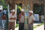 typical Honduran men wearing sombreros