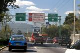 driving past the capital, Guatemala City
