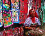 San Blas Pipe Smoking Kuna Woman2