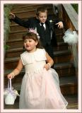 Ring Bearer and Flower Girl Making Entrance
