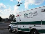 MedCenter Air over Ambulance