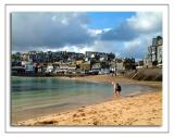 Kids on the beach, St. Ives, Cornwall