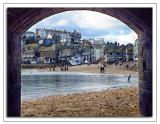 Through the archway, St. Ives, Cornwall