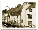 Row of houses, harbourside, Weymouth