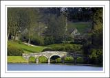 The bridge and monument ~ Stourhead