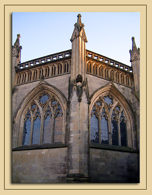 Chapter House windows, Wells Cathedral, Wells