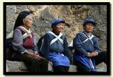 Three Naxi Women, Shi Tou Cheng, Lijiang