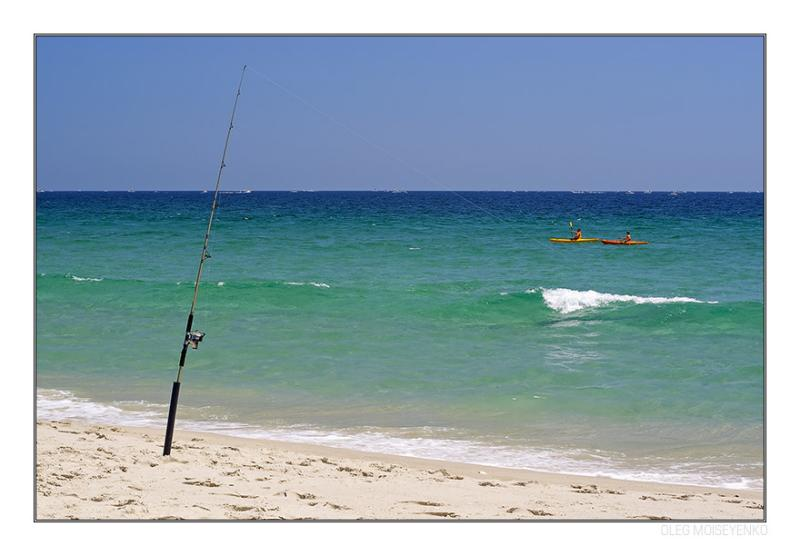 Gone fishing I
