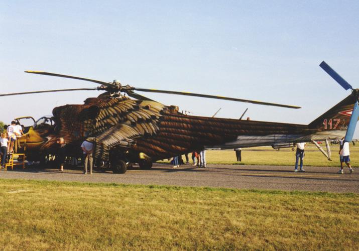 Mi-24, Hungarian Air Forces