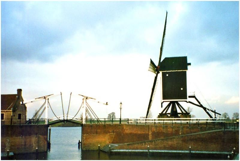 Windmill at Heusden