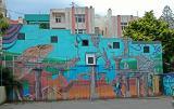 11 Feb 04 - Painted Wall - Wellington