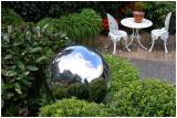 26 Feb 04 - Gardens,  Chrome Balls and Table for 2