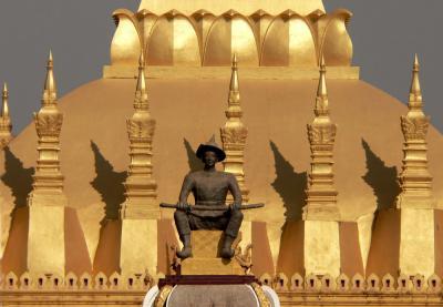 Thatluang Stupa, Vientiane, Laos, 2005