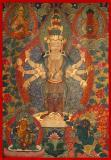 Avalokiteshvara - (11 faces, 8 hands)
