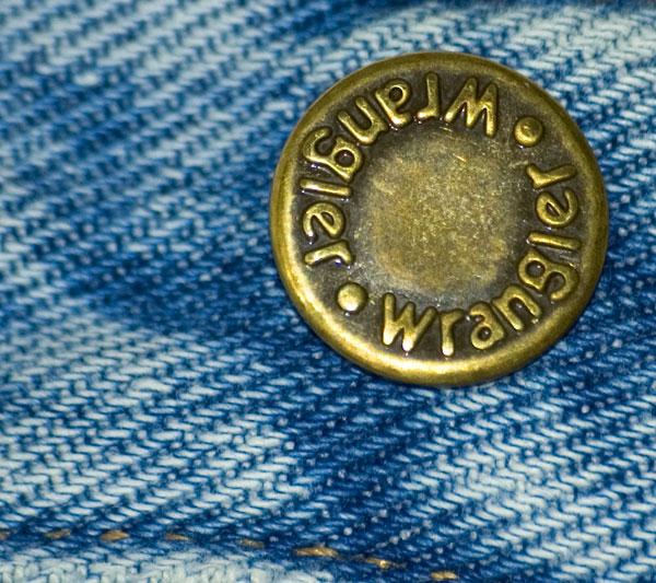 Jeans-Button