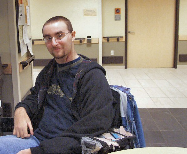 Jake at the Courage Center 2002
