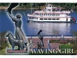 Waving Girl -- Morrell Park on the River Front