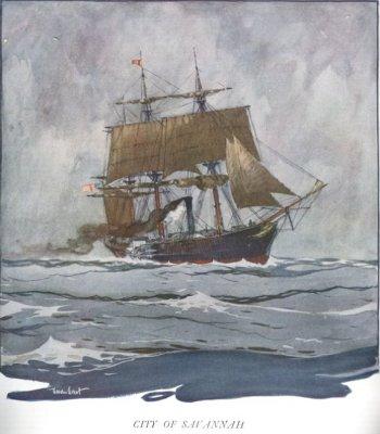 S.S. Savannah Steamship