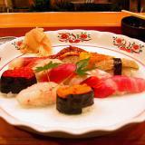 Sushi at Hon-Shiogama