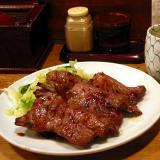 The Ox Tongue dinner set Yen1000