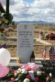 West Texas cemetery