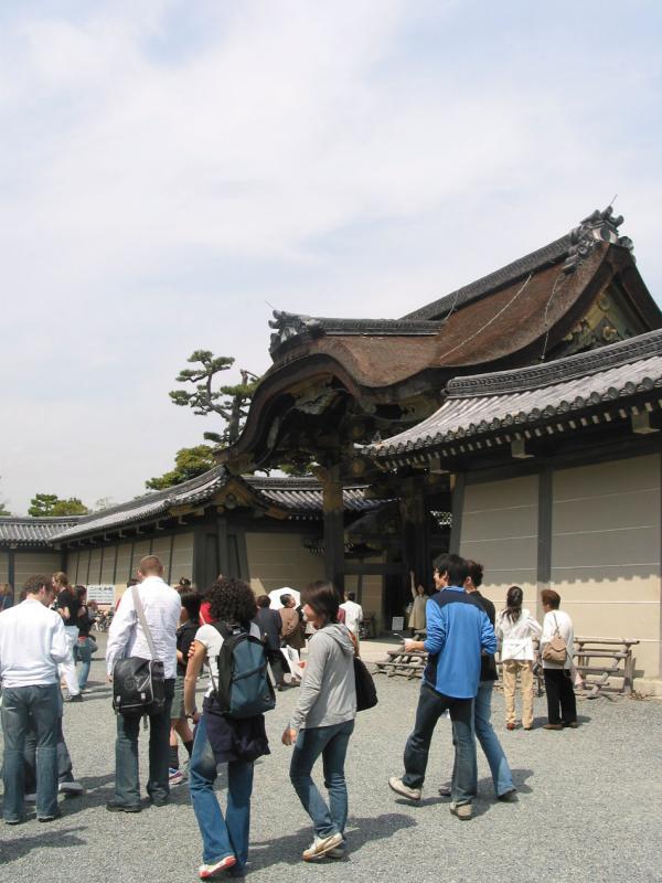 Inside portal Nijo-jo
