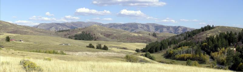 Mountain Panorama, Pocatello, Idaho
