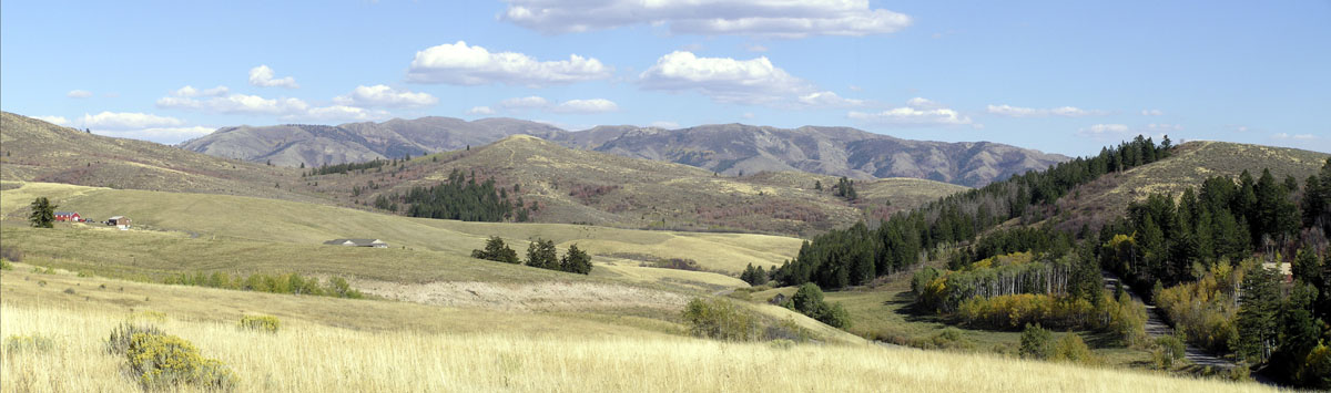 Mountain Panorama, Pocatello, Idaho