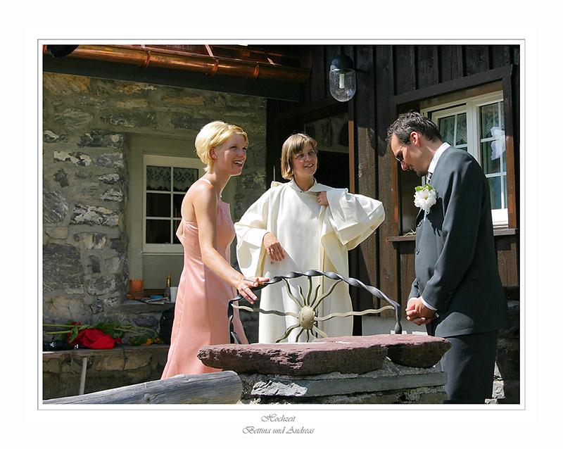 Frau Pfarrer mit Susanne und Daniel