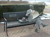 Waiting when Medusa came his way, Harrisburg, PA
