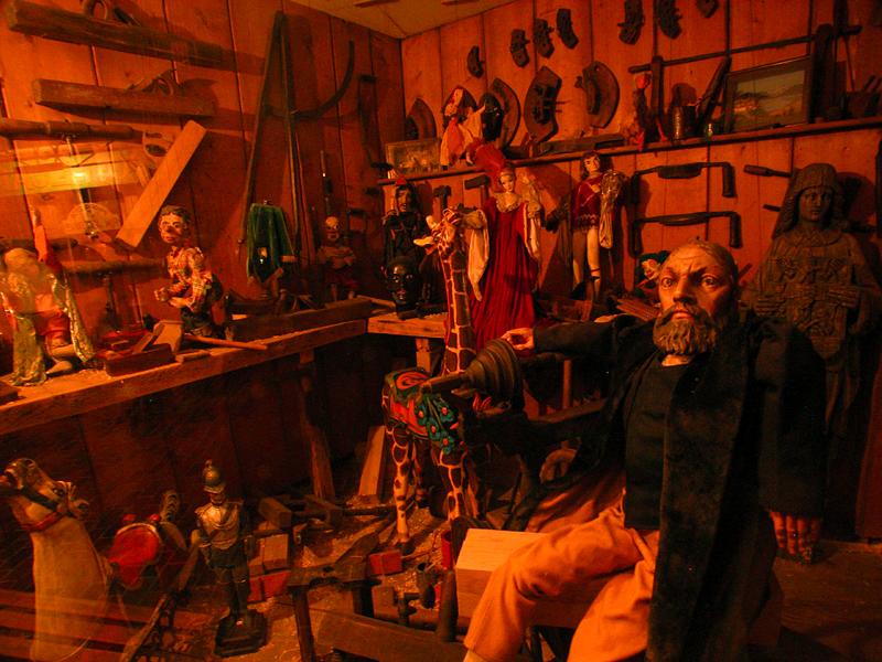 puppet maker.