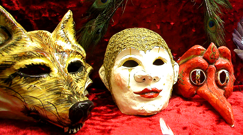 Marti Gras Mask Collection.