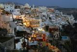 Fira by night (Island Santorini)