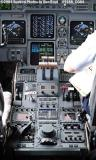 2004 - USCG C-37A Gulfstream V CG-01 cockpit - Coast Guard stock photo #9188
