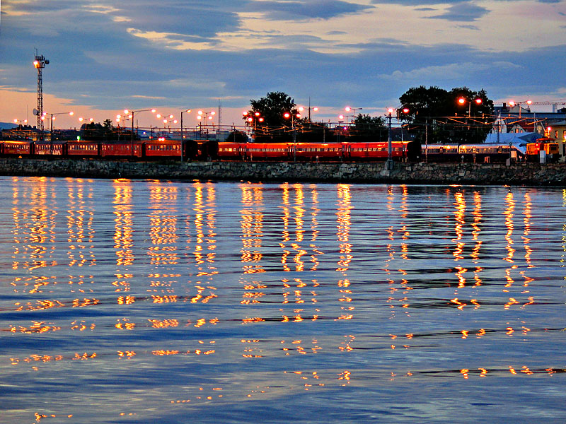 Sleeping trains