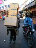 Man carrying stuff