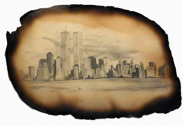 Paper from the WTC found in Brooklyn 9-11-01