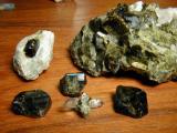 Calumet Epidot Crystals