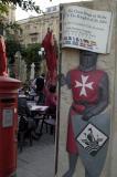 Ad for Knights of Malta tourist trap