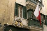 Maltese flag, Valletta
