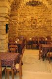 A small cafe in the Souq