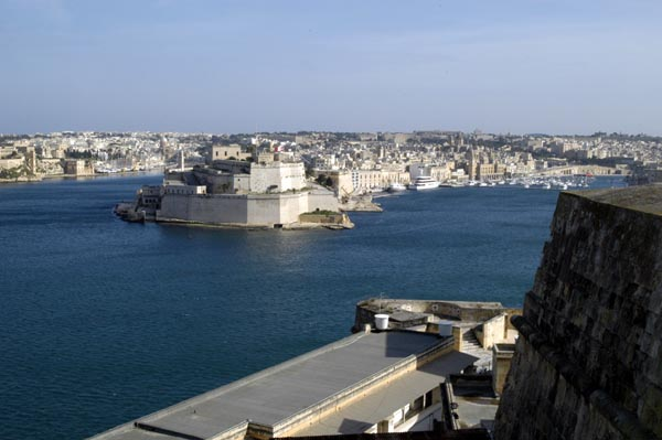 Grand Harbour, Fort San Angelo in Vittoriosa