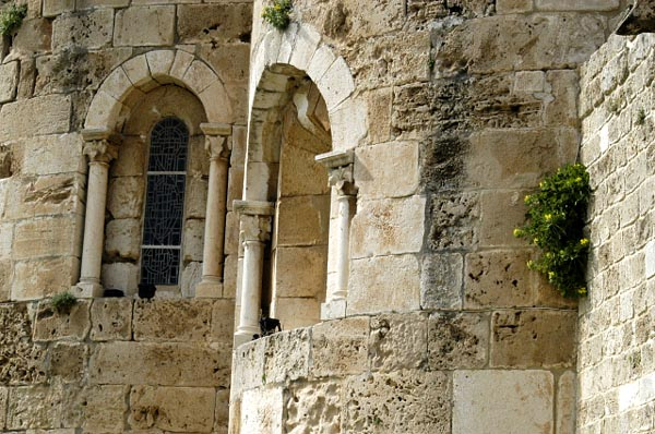 Detail, Church of St John the Baptist, Byblos